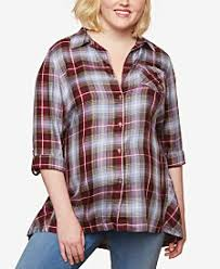 Maternity Plaid Shirt Tunic Maternity Clothes For The Stylish Mom Macy U0027s