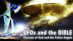 ufos and the bible chariots of god and fallen millstone