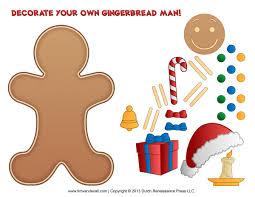 top 61 gingerbread man clip art free clipart spot