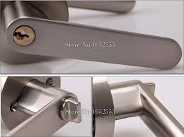 Interior Door Lock Key Door Lock Living Room Bedroom Bathroom Door Handle Lock Lever Door