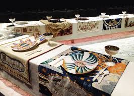 judy chicago dinner table the dinner party judy chicago 1979 textileartist org