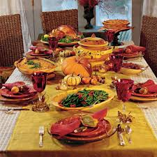 Easy Thanksgiving Table Decorations Decorations Traditional Fall Color Theme Thanksgiving Table