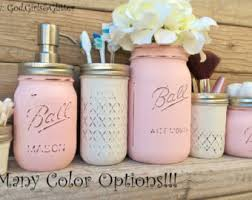 Pink Bathroom Storage Bathroom Cups Storage Etsy