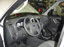 Ford Escape Interior - ford escape hybrid interior view nj auto expo 2005 car