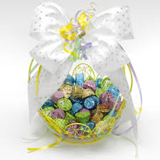Easter Home Decorations Easter Home Decor Candy Dish Basket Diy Easter Baskets