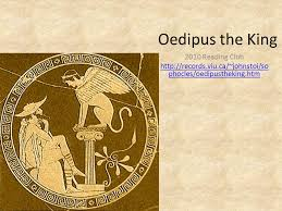 Oedipus Blinds Himself Oedipus The King 2010 Reading Club Ppt Download