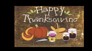 happy thanksgiving to my family