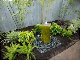 backyard water fountain diy home outdoor decoration