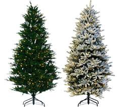 santa s best balsam fir tree with rgb 2 0 technology