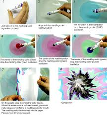amazon com new water marbling paint 12 colors tube set 12ml