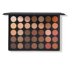Make Up City Colour 35os nature glow shimmer eyeshadow palette morphe us