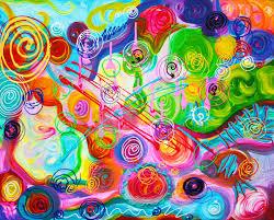 Seeking Painting Seeking Happiness Barbosa