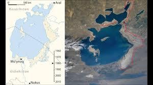Aral Sea Map Aral Sea Youtube