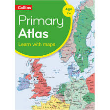 World Atlas Maps by Collins Primary World Atlas Globes Maps And Atlases Geography