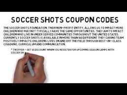 soccer shots coupon code up to 50 off 2017 coupon youtube