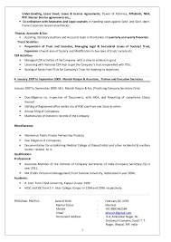 Resume Companies Resume Company Secretary Ziaul 1