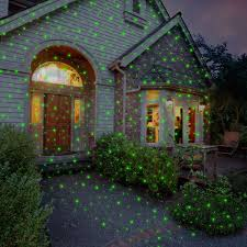 house christmas light projector christmas decor