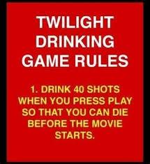 Meme Drinking Game - twilight drinking game meme guy