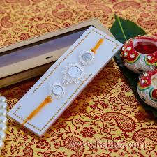 buy rakhi online silver rakhi buy silver rakhi online