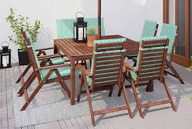 patio dining table and chairs amazing impressive wood patio dining table eucalyptus patio table