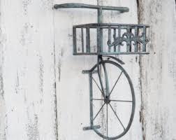 Decorative Metal Wall Shelves Bicycle Shelf Etsy