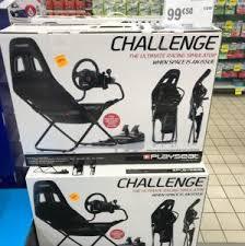 siege pour jeux siège pour jeux vidéo playseat challenge au auchan dieppe 76