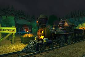 Halloween Monster Games by This Is How The Train Simulator Series Celebrates Halloween Polygon