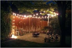 Cool Patio Lighting Ideas Backyard Pole Lights Backyard Light Pole Or Low Voltage Lighting