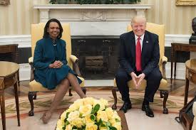 Trumps Oval Office by File Condoleezza Rice And Donald Trump In The Oval Office March
