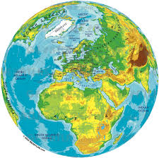 World Physical Map by Geoatlas Globes Europe Map City Illustrator Fully Modifiable