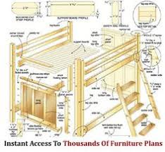 Free Homemade Loft Bed Plans by Diy Loft Bed Plans Free Free Loft Bed Queen Diy Woodworking