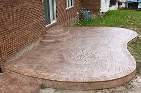Photos Of Concrete Patios by Stamped Concrete Patios Unique Cement Photos Michigan