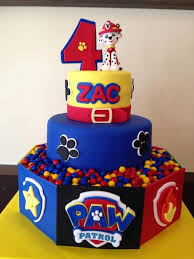 10 perfect paw patrol birthday cakes pretty party