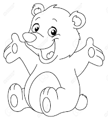 cool teddy bear coloring pages 43 6991
