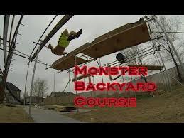 Backyard Ninja Warrior Course My Huge Backyard Ninja Warrior Course Grand Tour Youtube