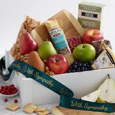 gift baskets sympathy sympathy gift baskets proflowers
