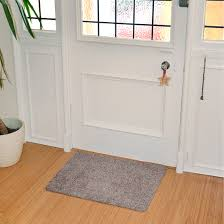 Non Slip Mat For Laminate Flooring Cotton Barrier Doormat Machine Washable Large Non Slip Floor Mat