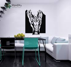 popular flame wall buy cheap flame wall lots from china flame wall boxer flaming man champion sport sportsman gym wall vinyl decal sticker housewares art murals interior decor