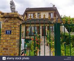 creteil france single family house cottage in paris suburbs