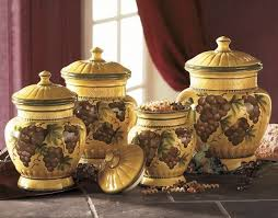 grape kitchen canisters 20 best everything grape images on wine decor