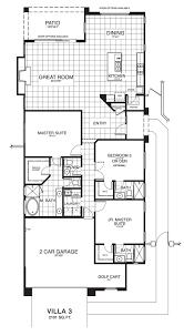 Floor Plans With 2 Master Suites Villa 3 U2014 Arroyos
