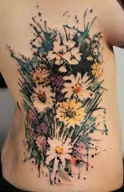 flowers bouquet tattoo ideas tattoo pinterest bouquet tattoo