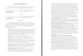 free contract agreement template between vocational specialist