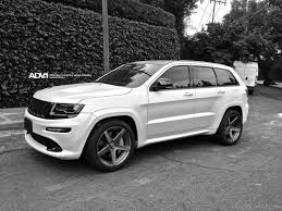 jeep cars white white jeep grand cherokee srt angled view image car pictures