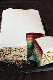 rainbow cake hervé cuisine rainbow cake ou gâteau arc en ciel c est tres facile a faire