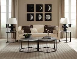 riverside furniture lyric industrial hexagon side table wayside