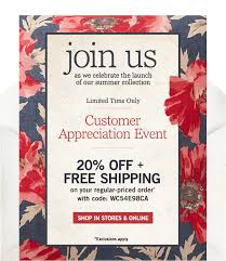 Free Shipping Pottery Barn Pottery Barn A Special Invite And It Comes With 20 Off