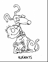 excellent rugrats characters coloring pages with rugrats coloring