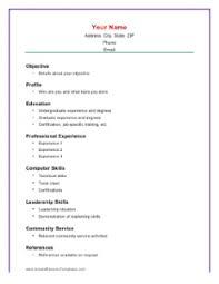 Sample Of A Basic Resume by Pretty Sample Basic Resume Super Resume Cv Cover Letter