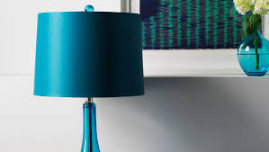 blue glass table lamp shade xiedp lights decoration